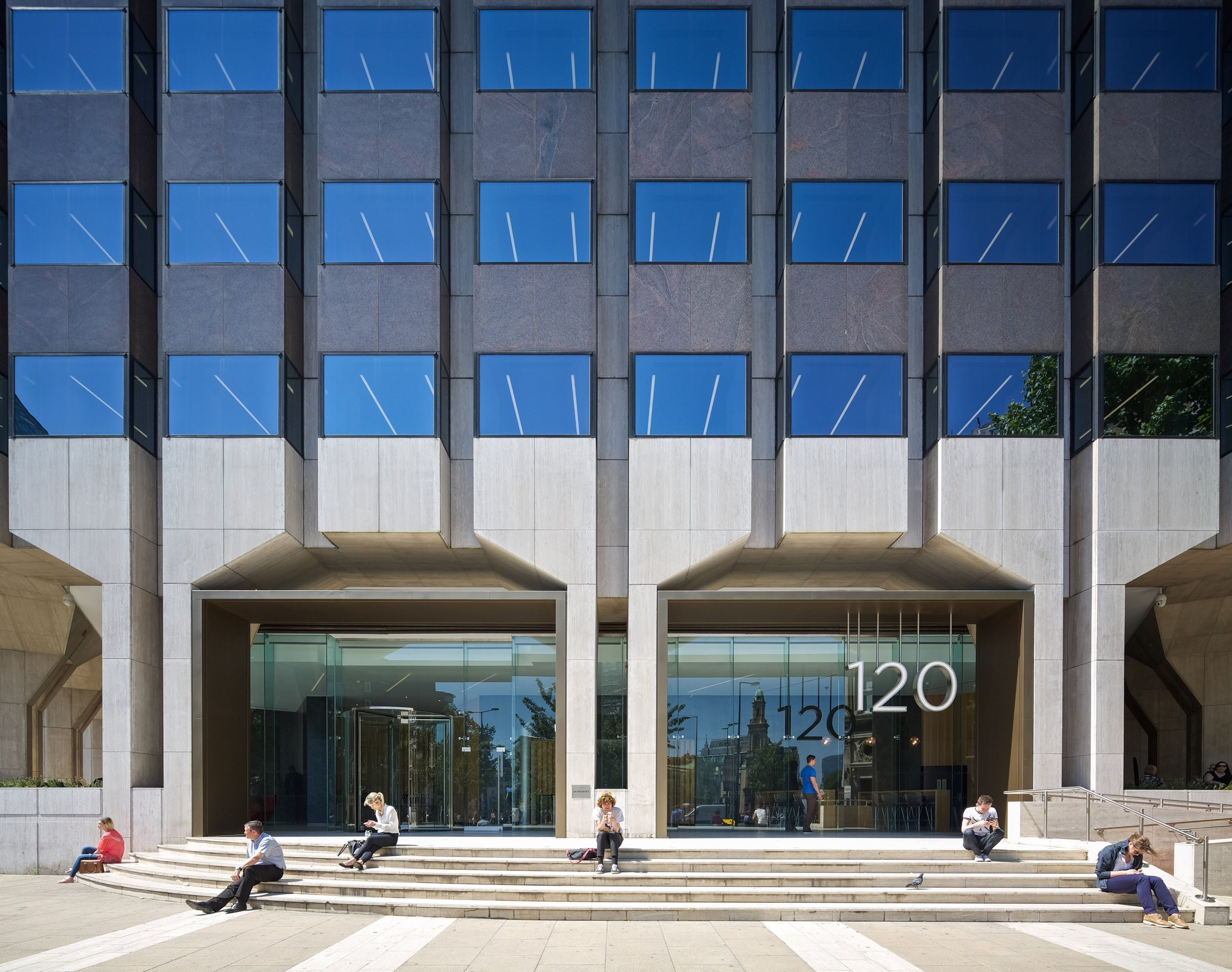 120 Holborn Office Exterior