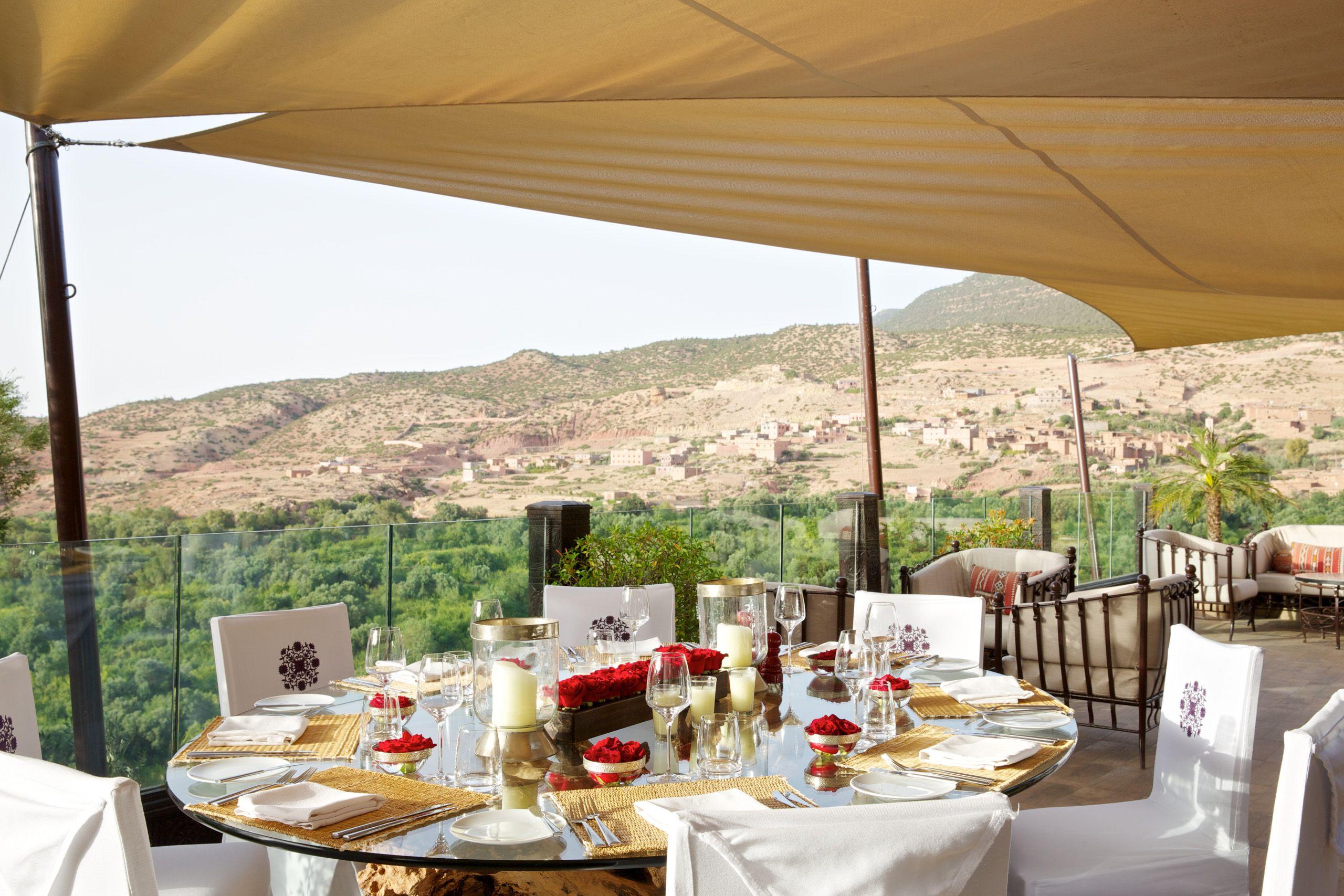 Kasbah Tamadot Terrace
