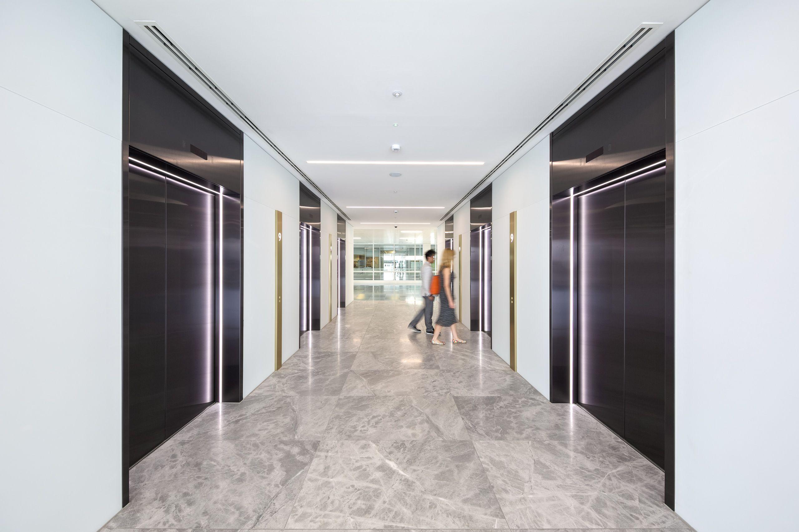 Broadgate Quarter Lift Lobby