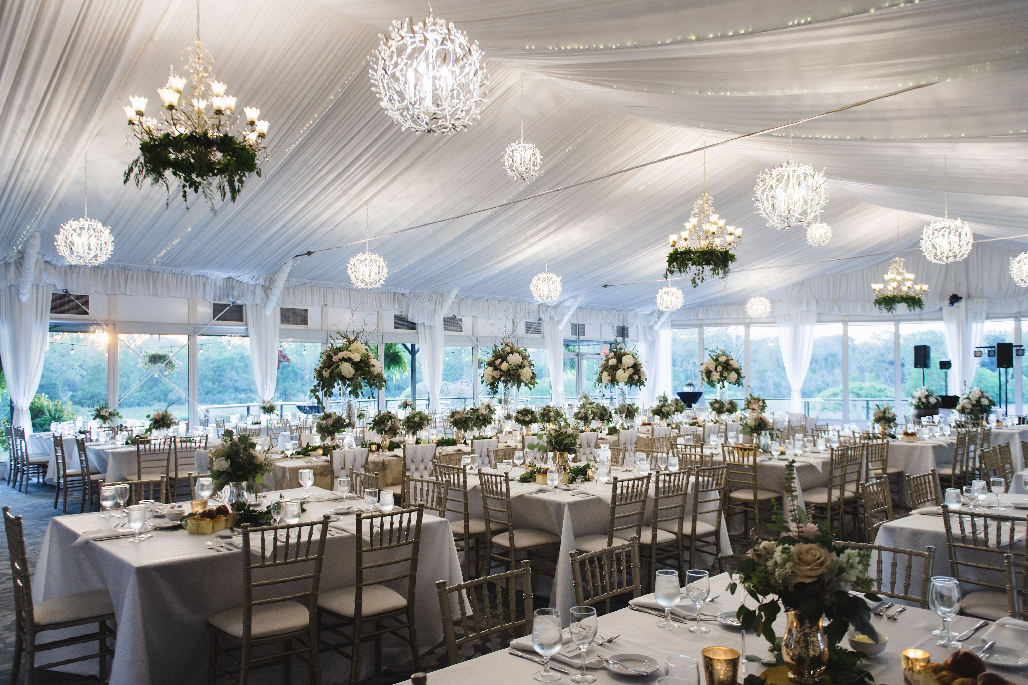 reception space tent
