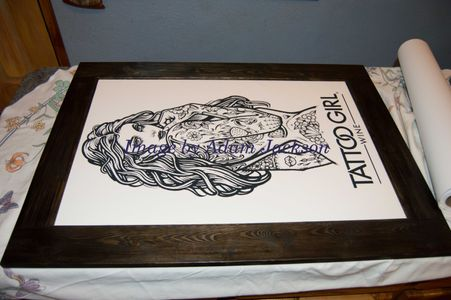 Adam Jackson giclee print