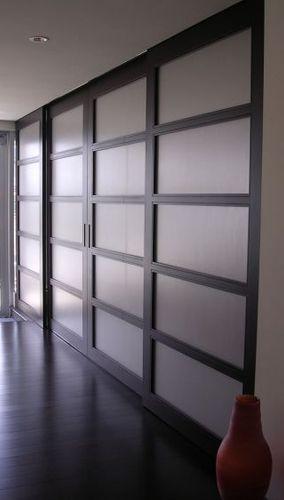 SHOJI DOORS Project# 408WengePlastic Composite Insert