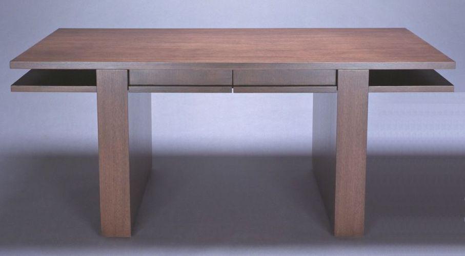CONTEMPORARY DESK Project# 381Rift White Oak