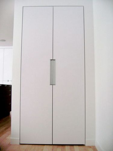 CLOSET DOORS Project# 888Plastic Laminate