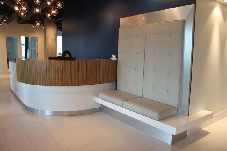 369 TERMINAL Project#1069, Head Office Reception Area