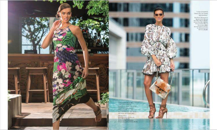 Belu Bergagna for INDULGE fashion issue