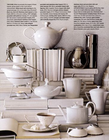 'O' MagazineWinter White Decorating