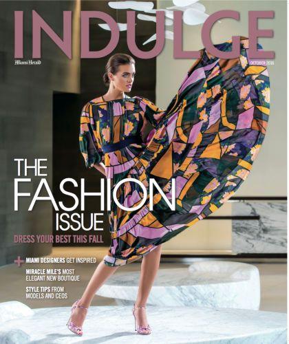 INDULGE cover, Belu Bergagna