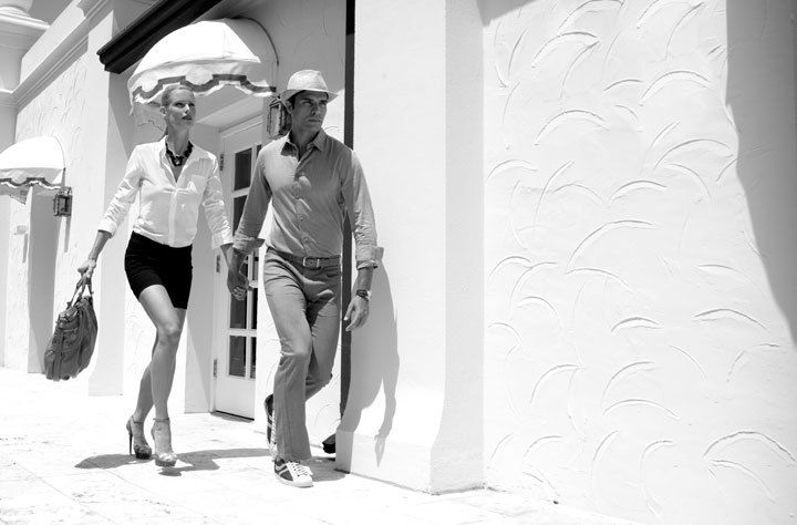 'South of Fifth & The Islands'Hitchcock Fashion Story, FIsher Island
