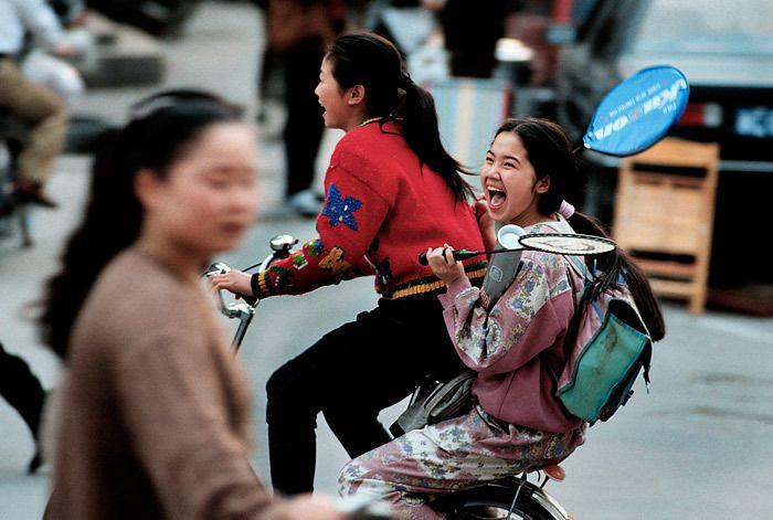 School girls / China