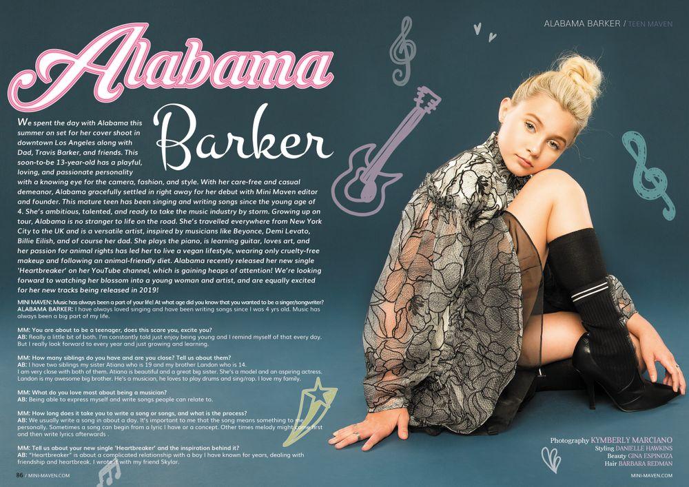 Alabama Barker