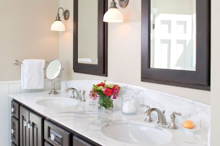 Maine Private Home Bathroom Sink Interior Photograph.jpg