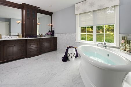 Private Home Interior photograph of a bathroom sink & tub.jpg