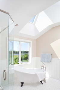 Maine Private Home Bathroom Soaking tub Interior Photograph.jpg