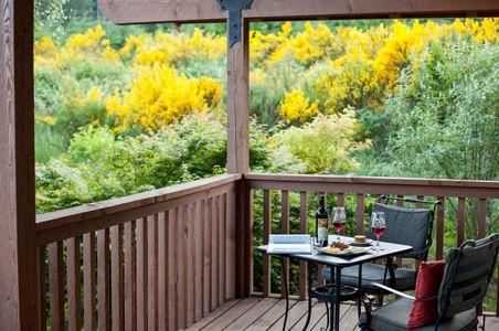 Washington State Luxury Cabin Porch.jpg