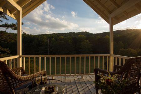 Sunset on a private deck - Glen Ella Springs.jpg