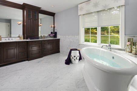 Private Home Interior photograph of a bathroom sink & tub.jpg