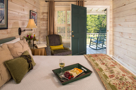 Interior photograph of a guestroom at Glen Ella Springs.jpg