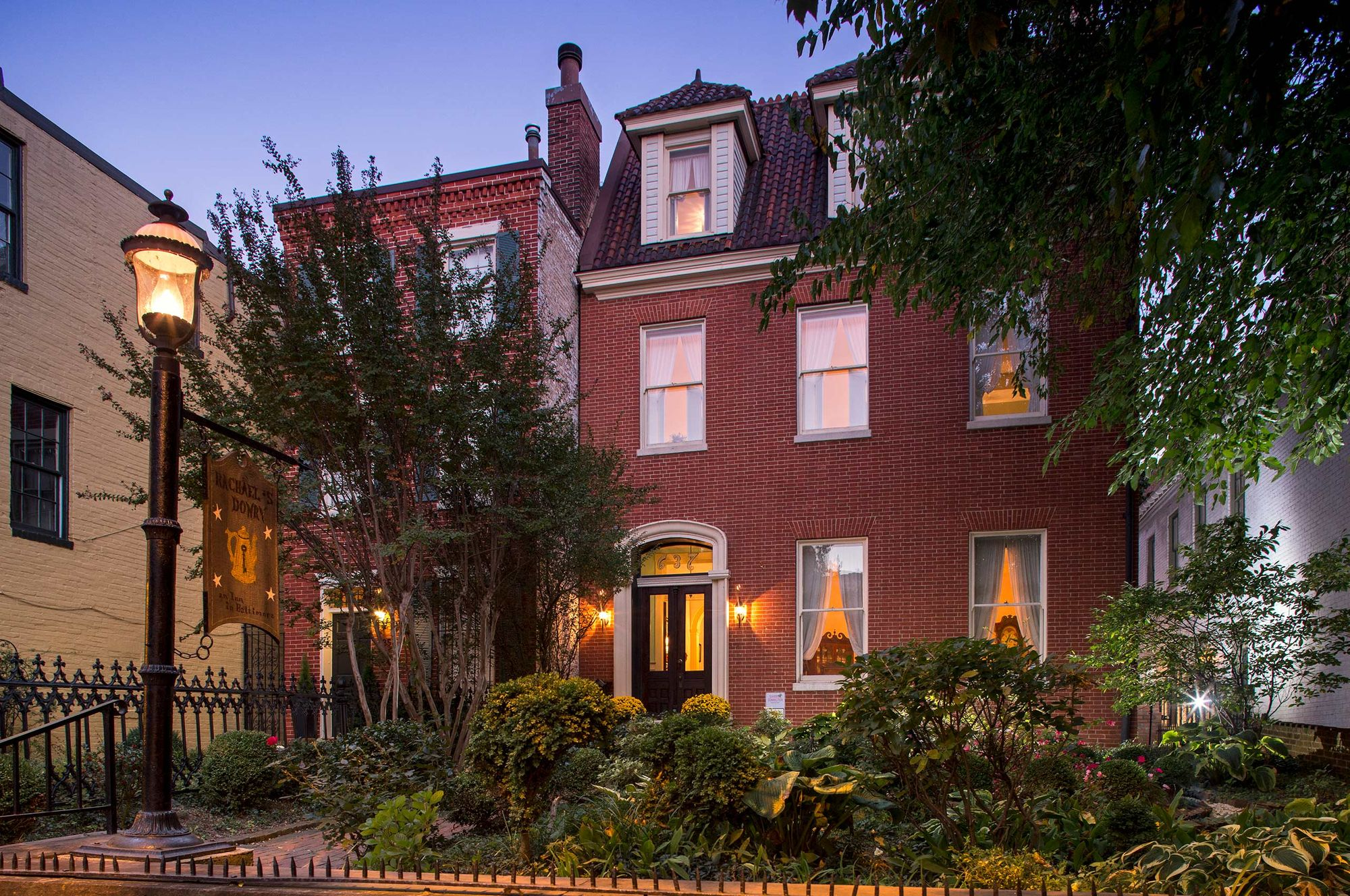 Baltimore-Maryland-Bed-&-Breakfast-Twilight-Exterior.jpg
