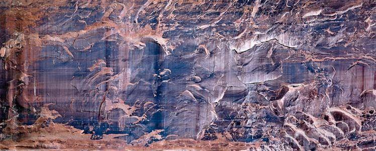 Rock Wall Arches National Park, Moab, Utah