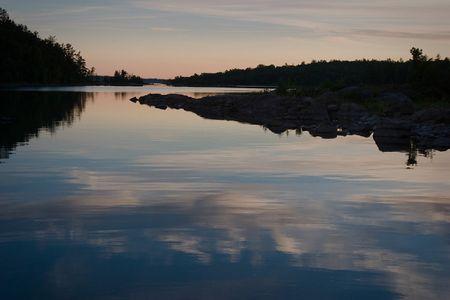 Desbarats SunsetOntario Canada