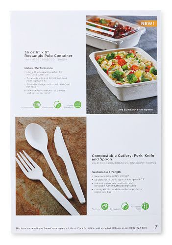 Compostable page