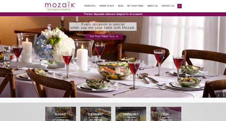 Mozaik web banner.