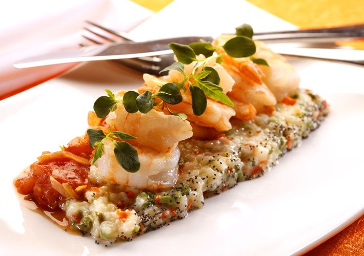Shrimp rissotto