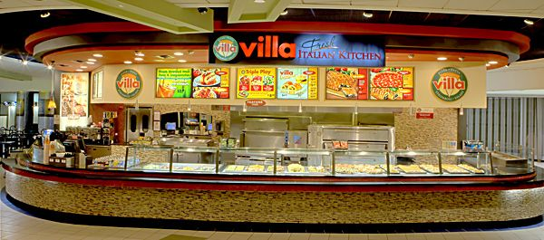 Villa pizza Newark airport