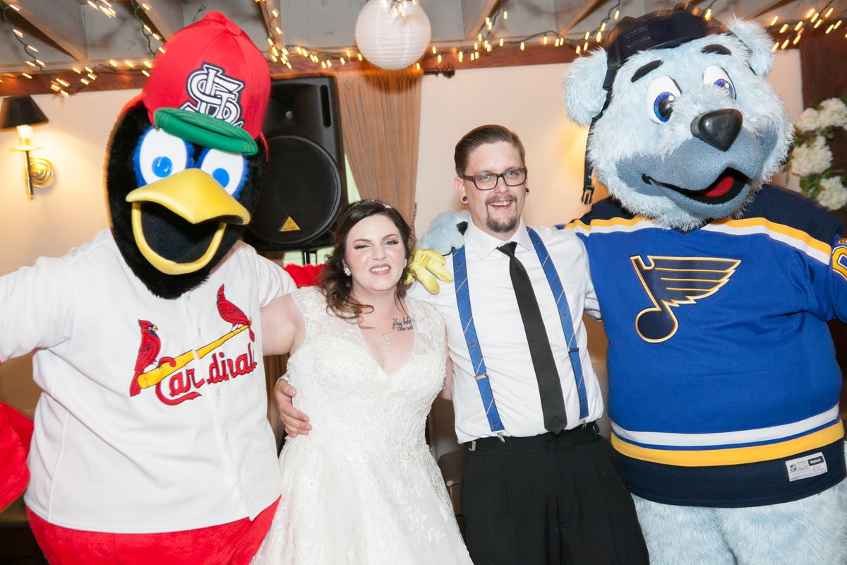 Fredbird and Louie at The Larimore