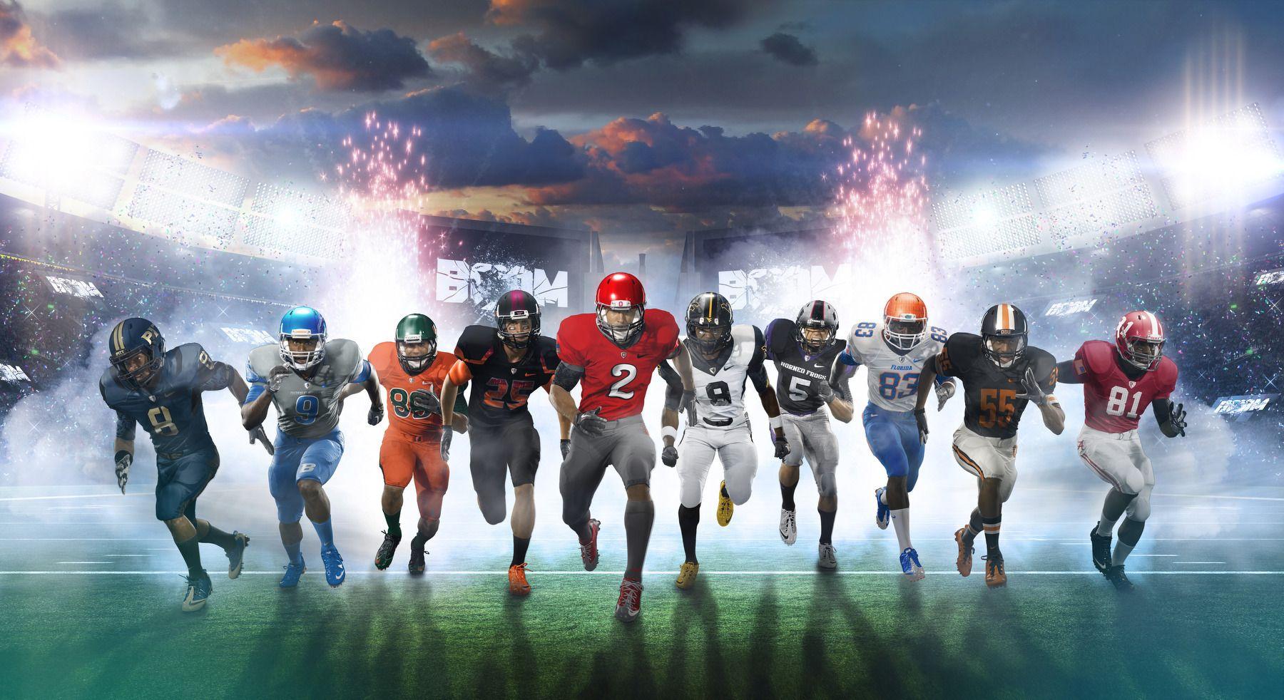 "Nike ""Boom Boom"" Ad. Smashbox Studios, LA."