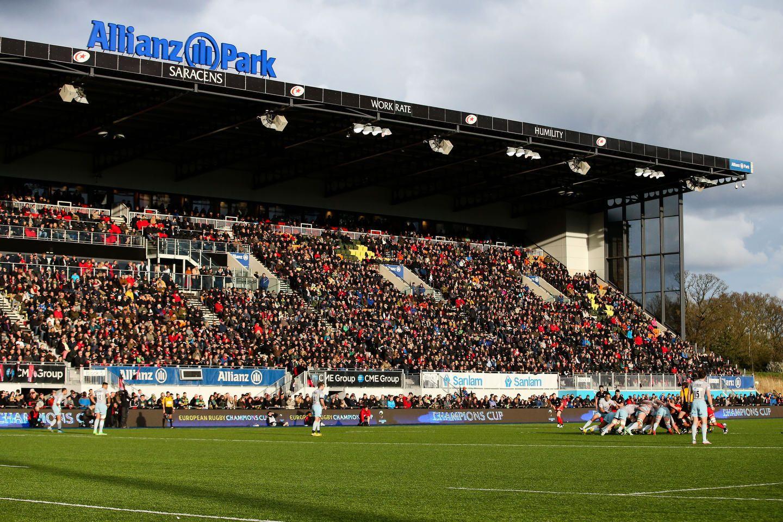 Saracens v Northampton - 2016 Quater-Final European Rugby Champions Cup - Twickenham Stadium