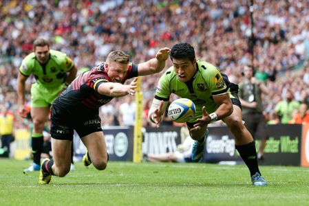 Aviva Premiership Final 2014 - Saracens vs Northampton - Twickenham Stadium - London - 31/05/2014