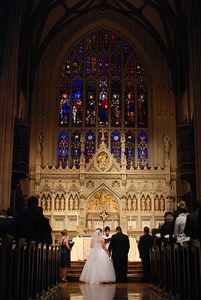 Trinity Church Wedding Ceremony