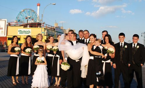 Wedding Portraits at Coney Island