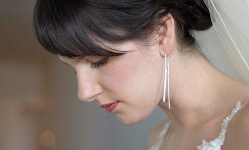 Bridal Close-up Candid Portrait