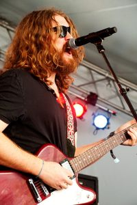 Ewan Currie of the Sheepdogs