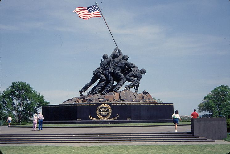 The Marine Corps Monument