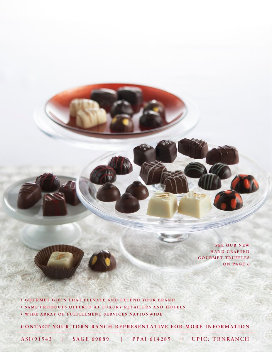 "client: Torn Ranchassignment: conceputalize, food/prop styling and photograph new product ""truffles"" featured on rear 2015 catalog cover"