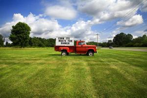 Red Truck, Lambertville, NJ