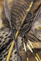 Bushman's traditional hunting tools