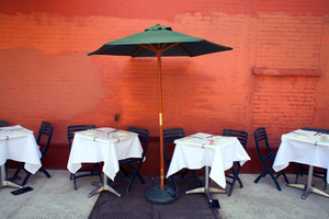 Sidewalk Restaurant, East Village, NYC
