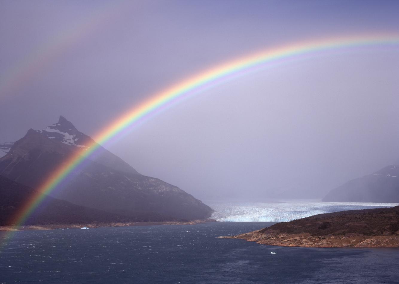 Perito Moreno Rainbow