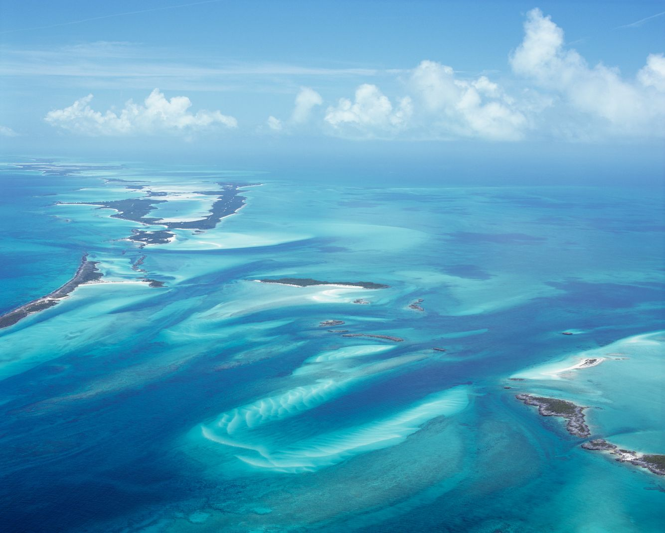 Aerial View of the Exhumas