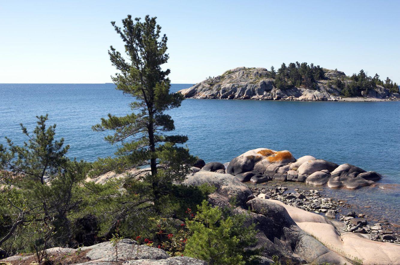 Low Island from East Fox Island