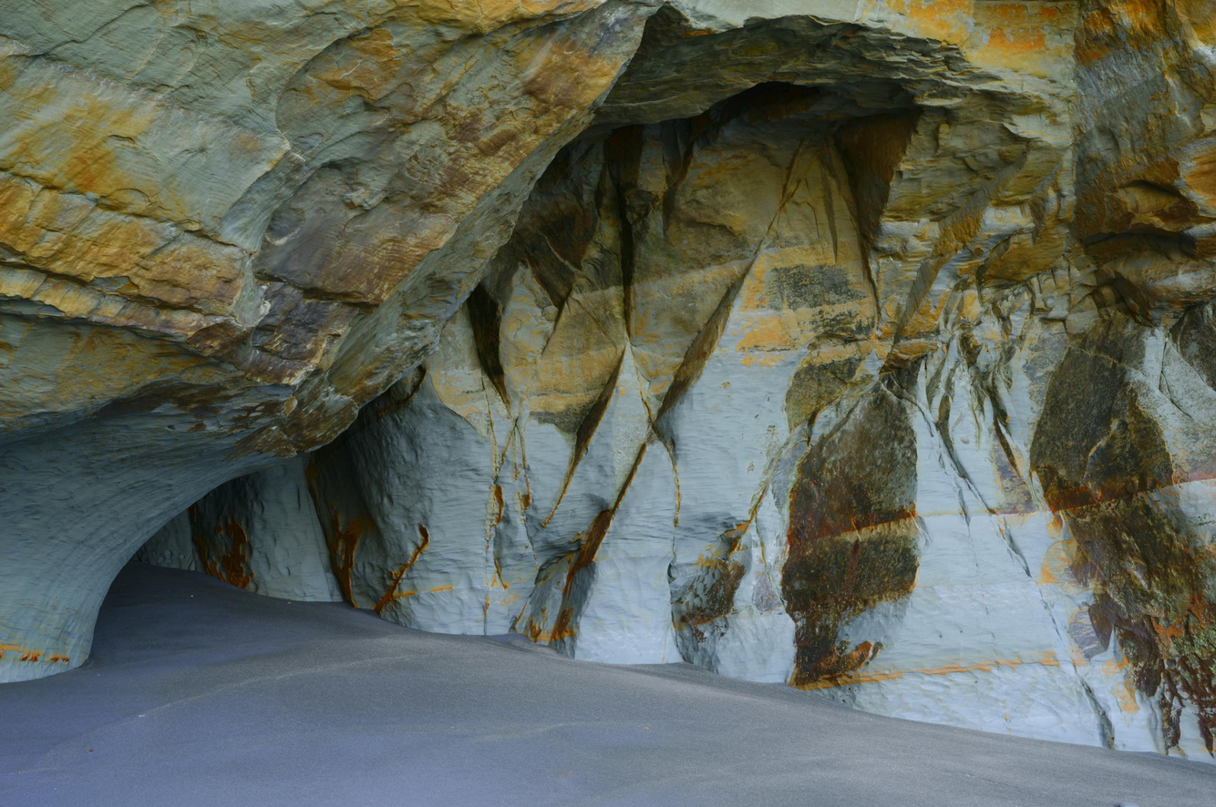 Cave at White Cliffs