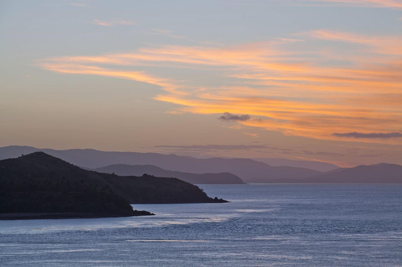 Sunset from Hamilton Island