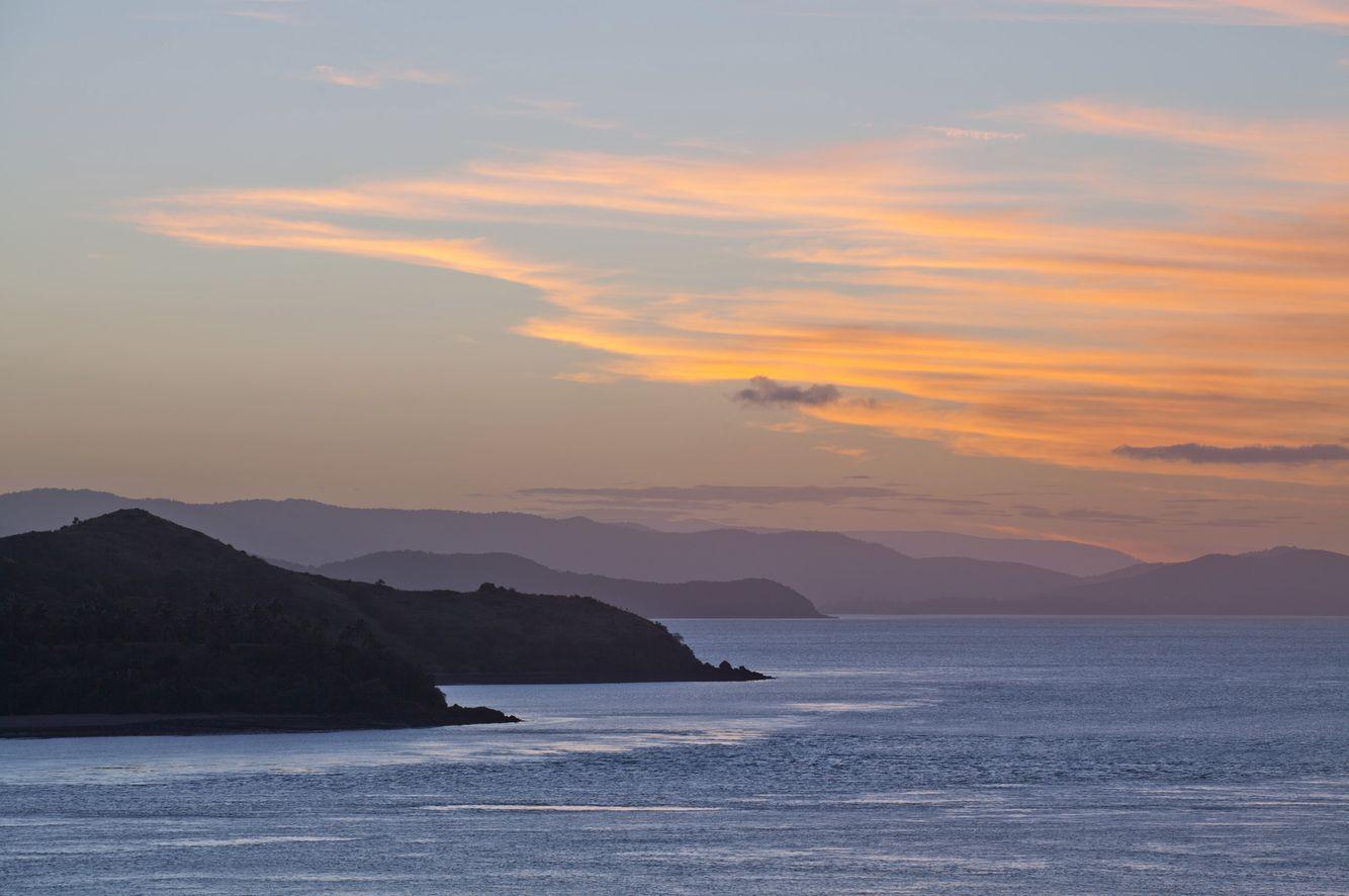 Sunset from Hamilton Island
