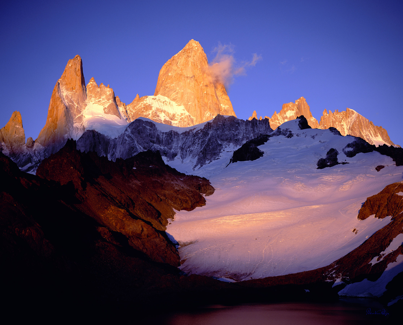 Mount Fitz Roy Sunrise