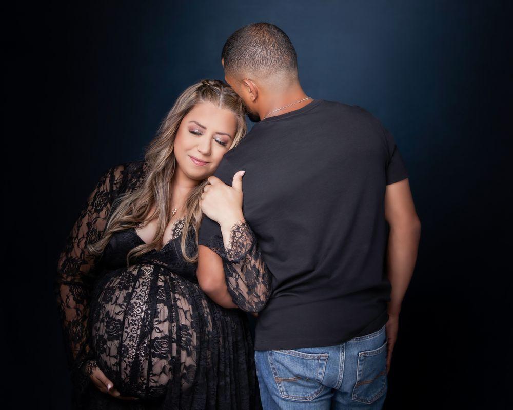 Studio Maternity Portraits